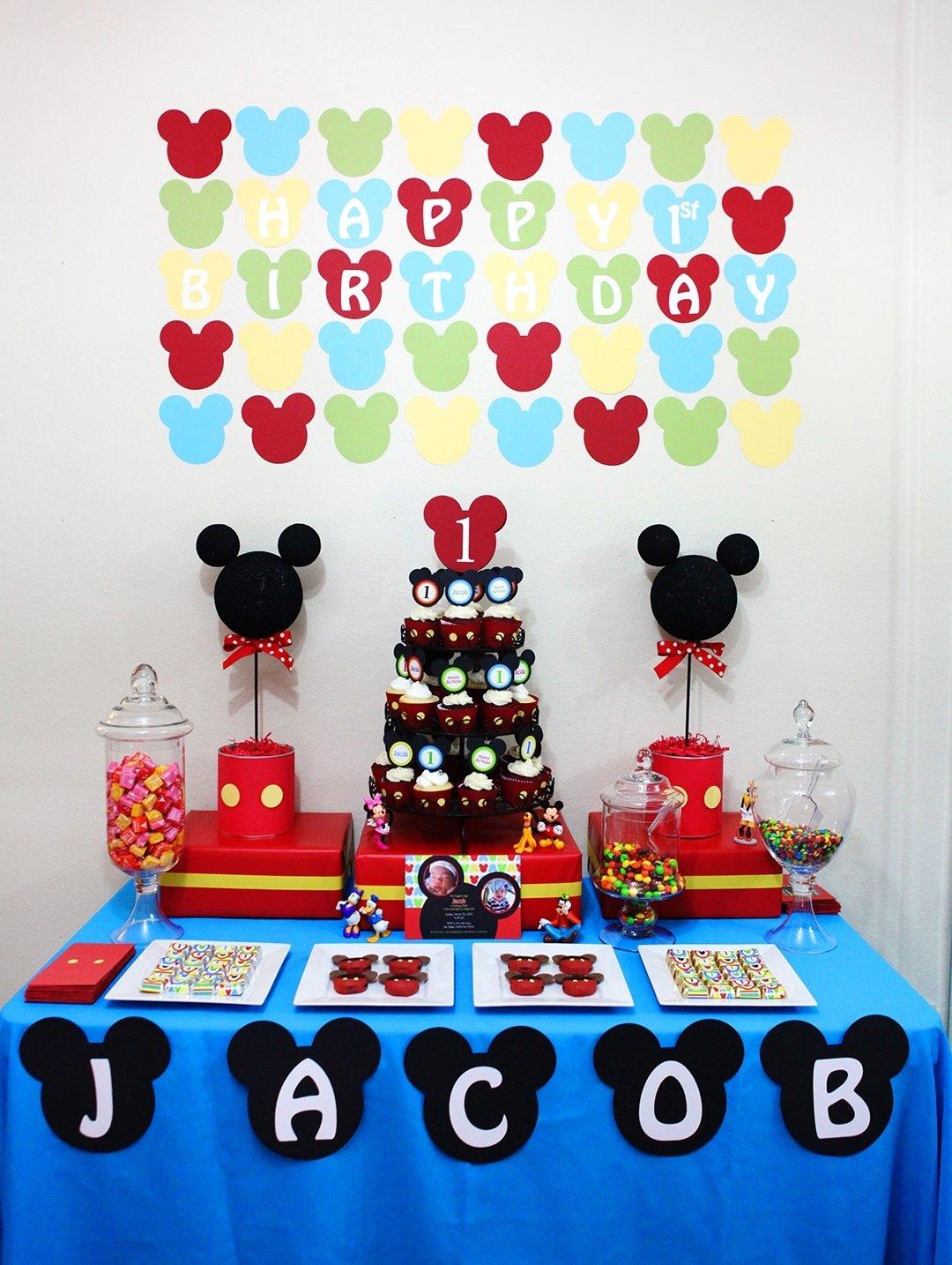 10 Gorgeous Mickey Mouse Birthday Party Ideas 1St Birthday awesome mickey mouse 1st birthday party ideas margusriga baby party 2020