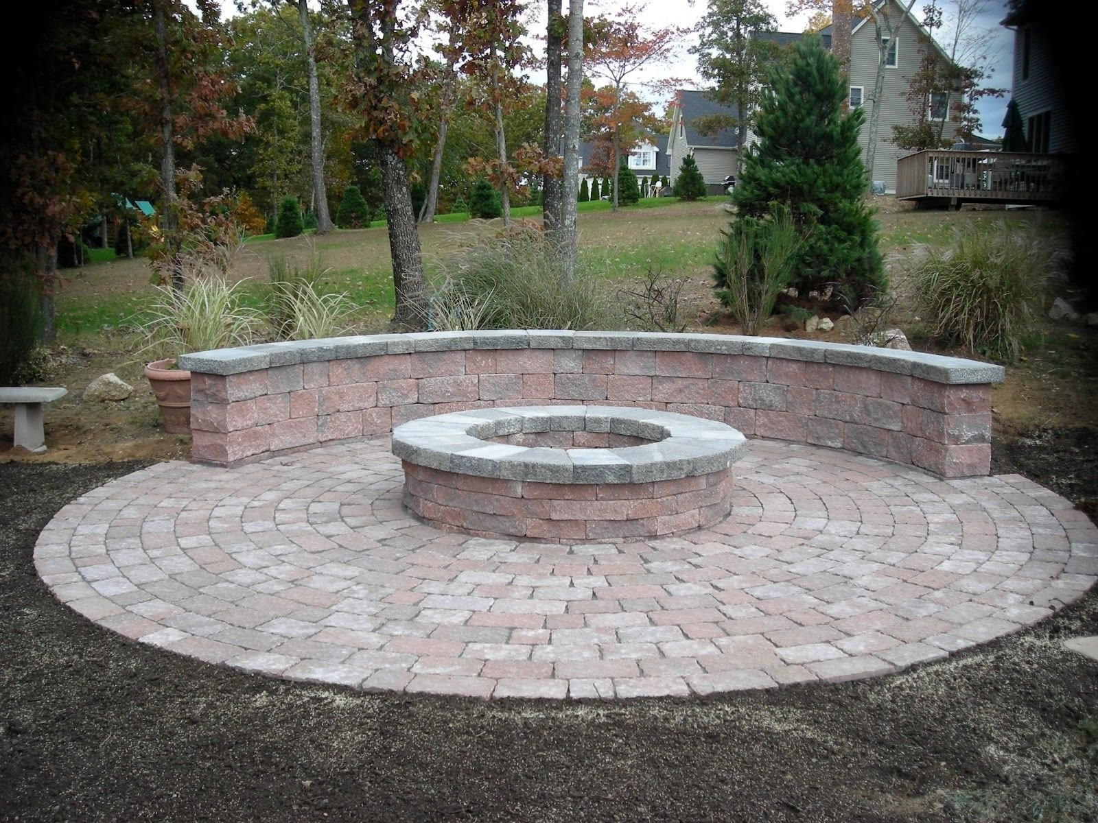 10 Great Outdoor Fire Pit Ideas Backyard awesome paver patio firepit outdoor fire pit design ideas spaces and 2020