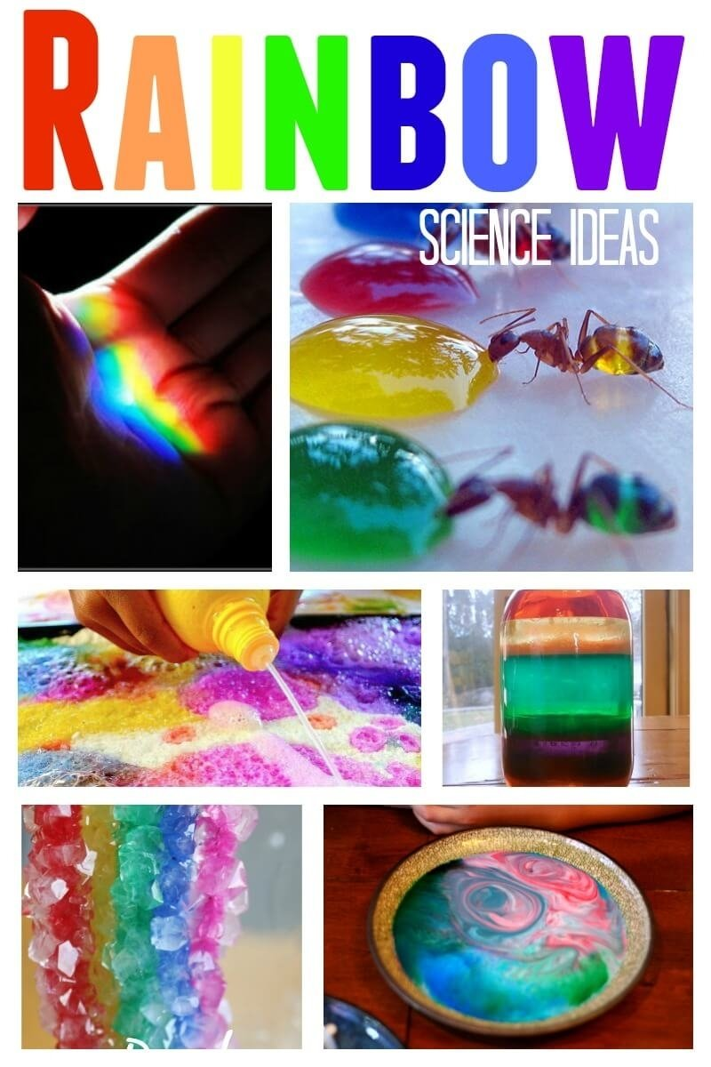 10 Ideal Awesome Science Fair Project Ideas awesome rainbow science experiments for kids