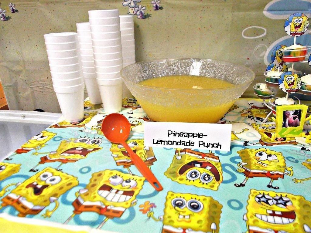 10 Trendy Spongebob Birthday Party Food Ideas awesome spongebob birthday party ideas margusriga baby party 2020