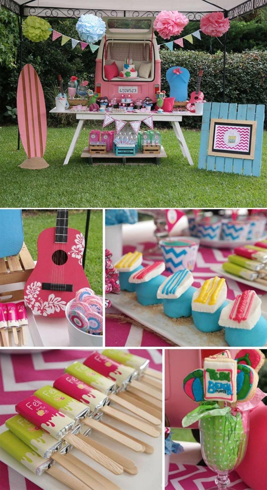10 Nice Birthday Party Ideas For Teenage Girls 14 awesome summer birthday party ideas for teenagers wall maxx