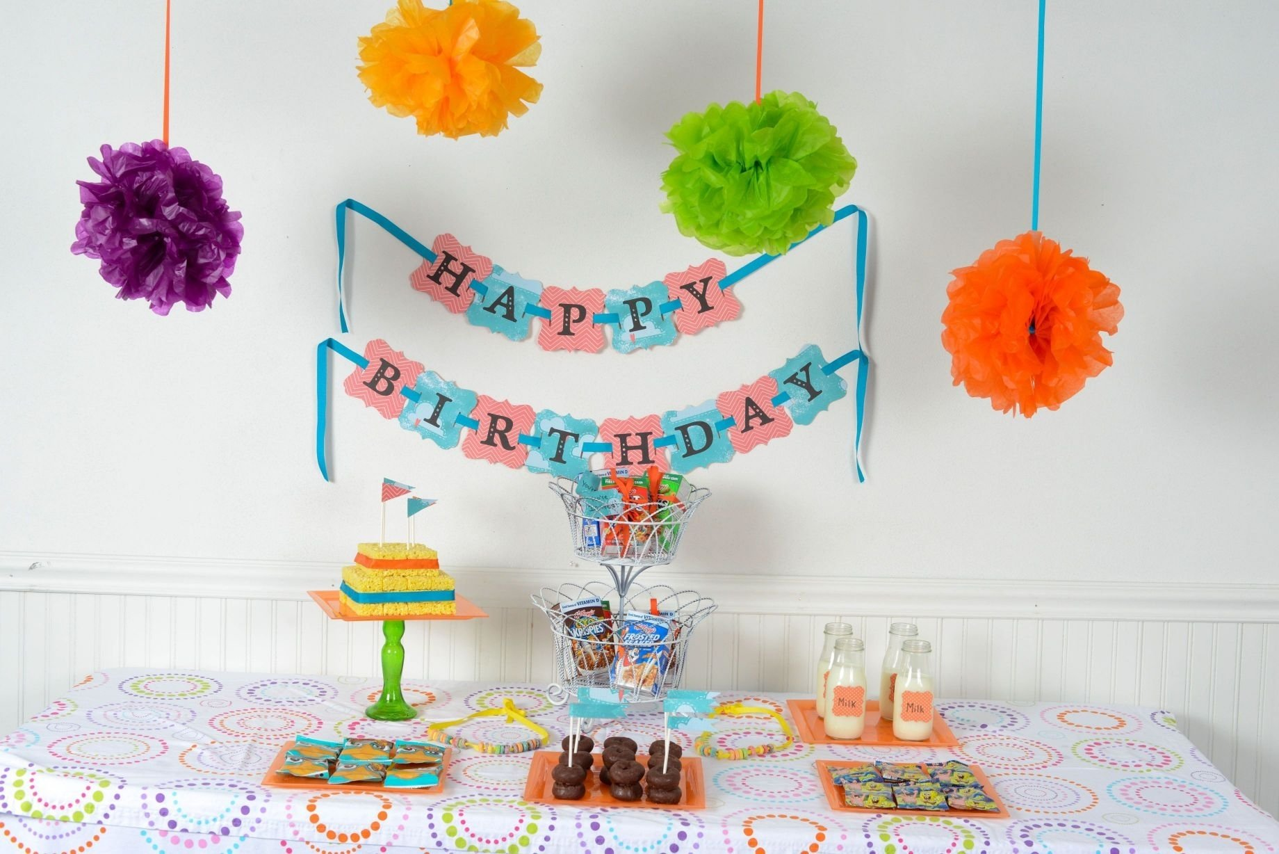 10 Cute Birthday Party Ideas At Home
