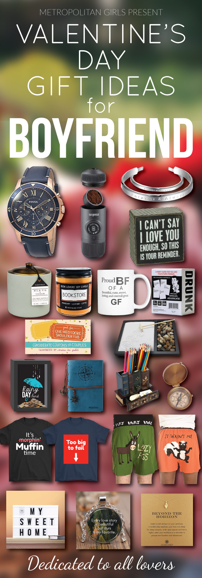 10 Spectacular Valentines Gift Idea For Him awesome valentines day gifts for boyfriend 2019 2020