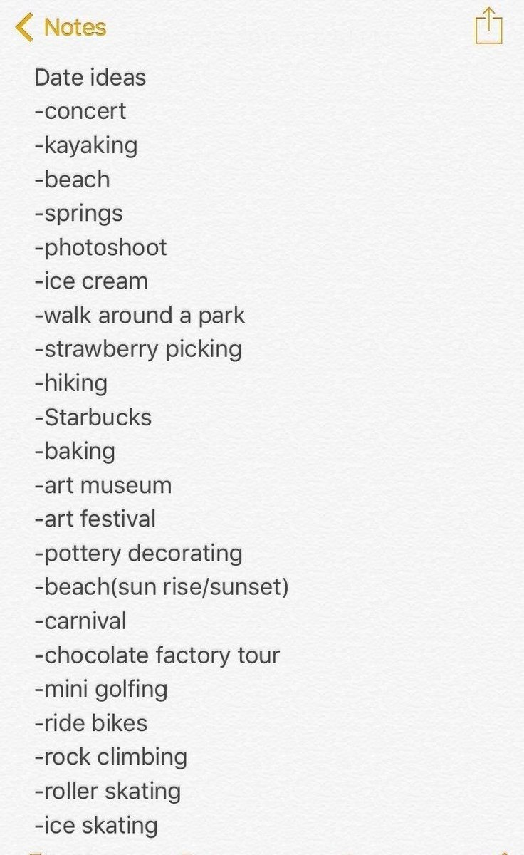 b j on twitter heres a list of cute date ideas httpst cute dates