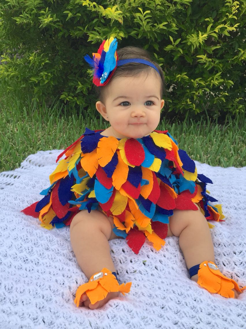 10 Wonderful Baby Costume Ideas For Girls baby bird costume baby parrot costume baby halloween costume baby 2020