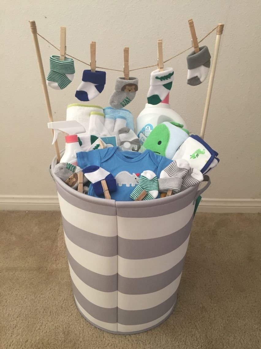 baby boy baby shower gift! (idea from my mother-in-law) | things