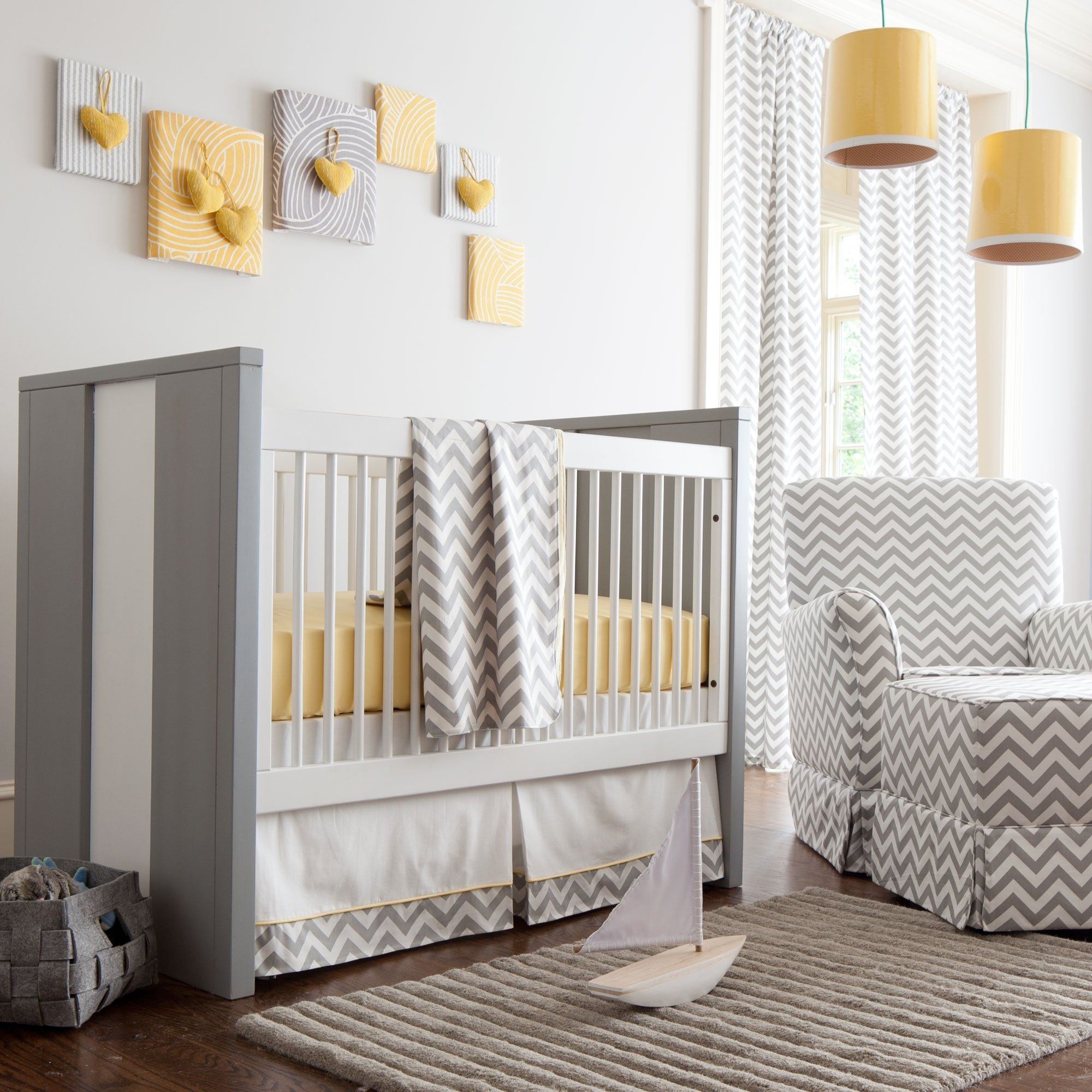 10 Fashionable Yellow And Gray Nursery Ideas baby boy bedding ideas baby zone area and yellow grey baby room 2020