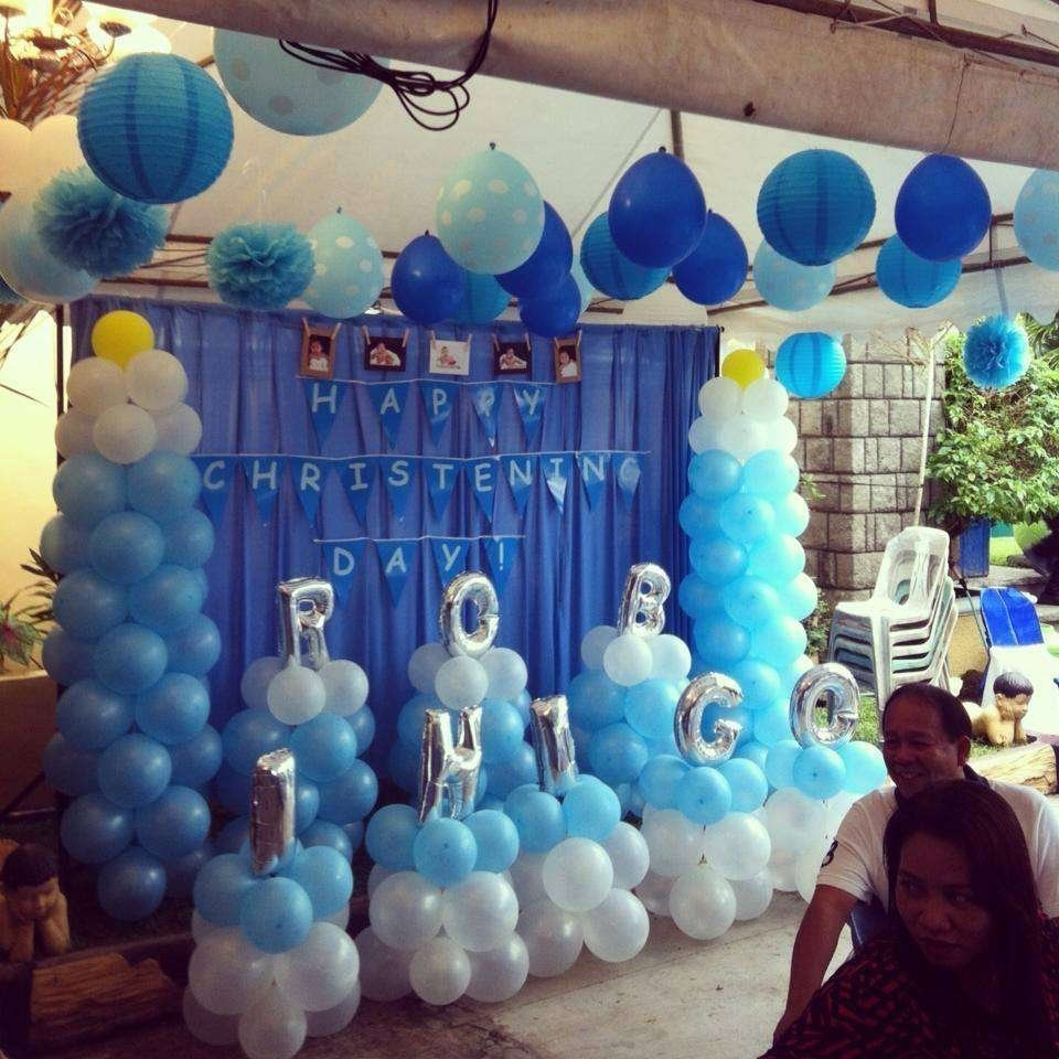 10 Famous Baptism Party Ideas For Boys baby boy blue baptism party ideas photo 1 of 5 catch my party