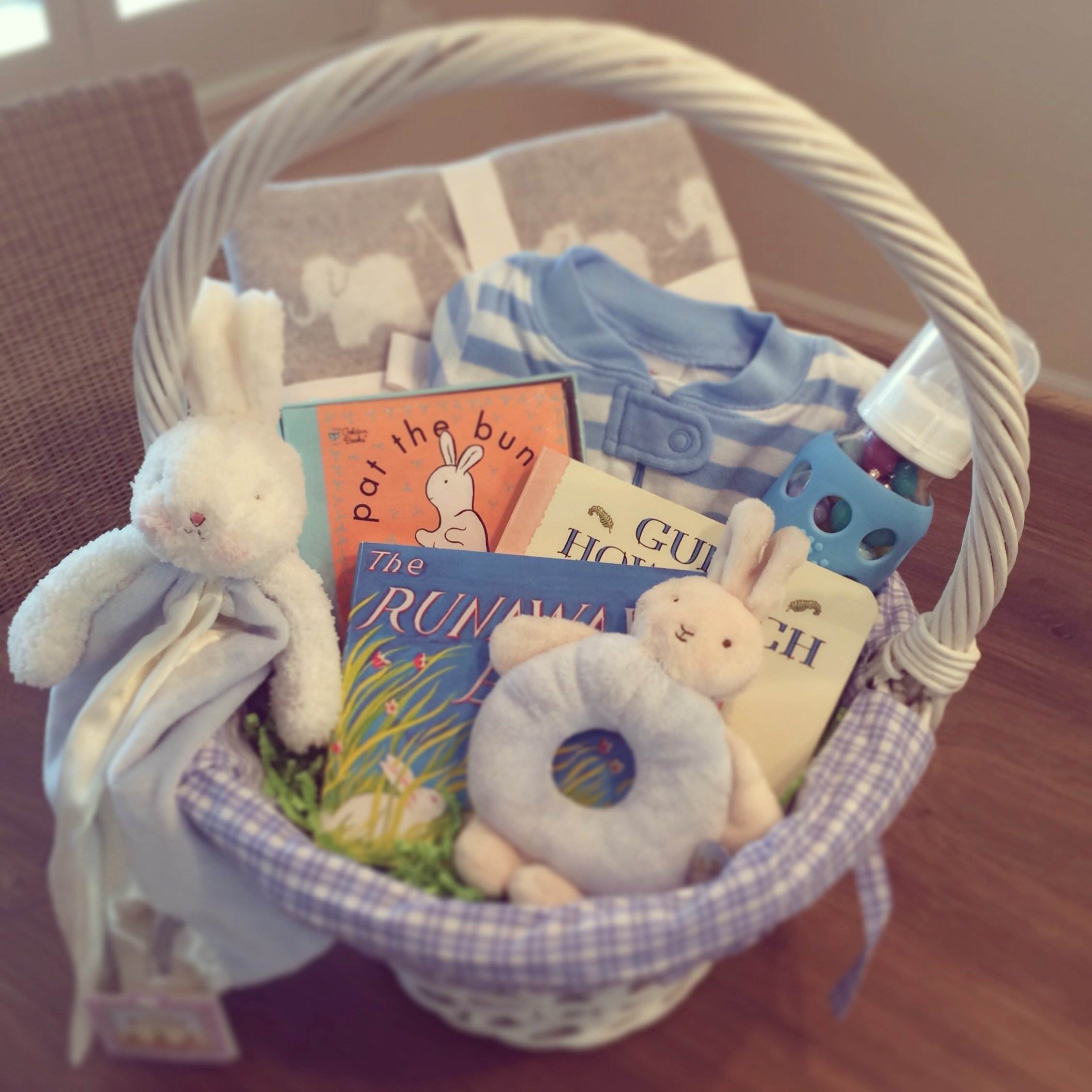10 Cute Easter Basket Ideas For Infants baby boy easter basket ideas blueberries basil 2021