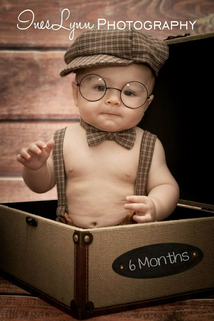 10 Fashionable 6 Month Boy Photo Ideas Baby 5 Months Outdoor