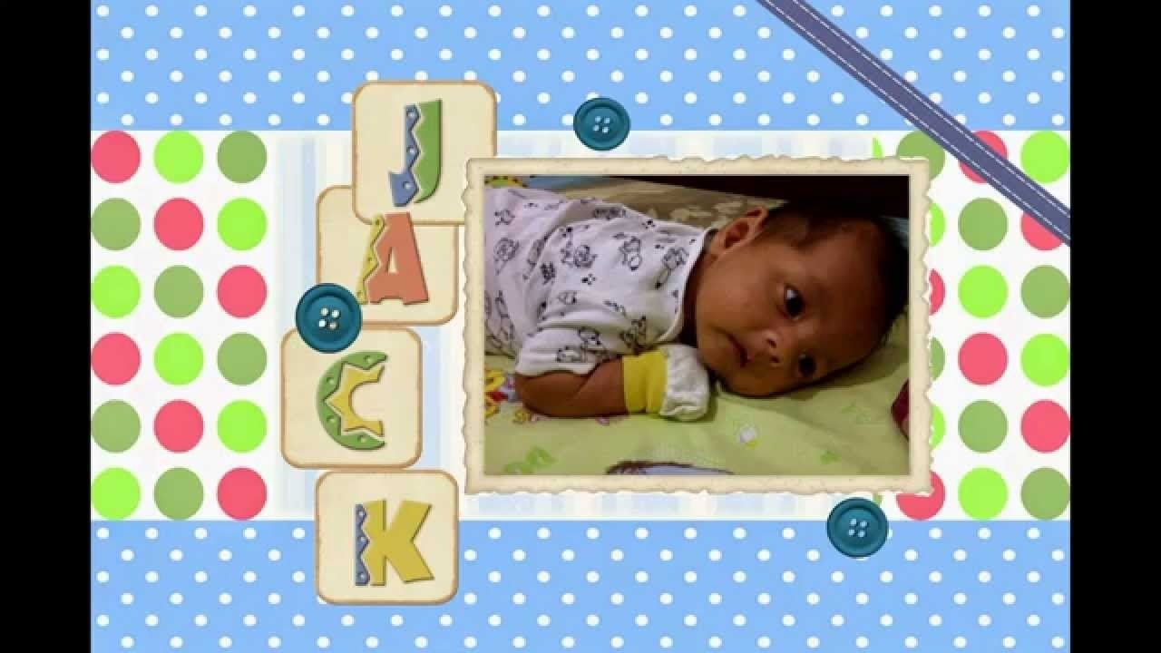 10 Fabulous Scrapbooking Ideas For Baby Boy baby boy scrapbook page ideas how to scrapbook scrapbooking with us 1 2021
