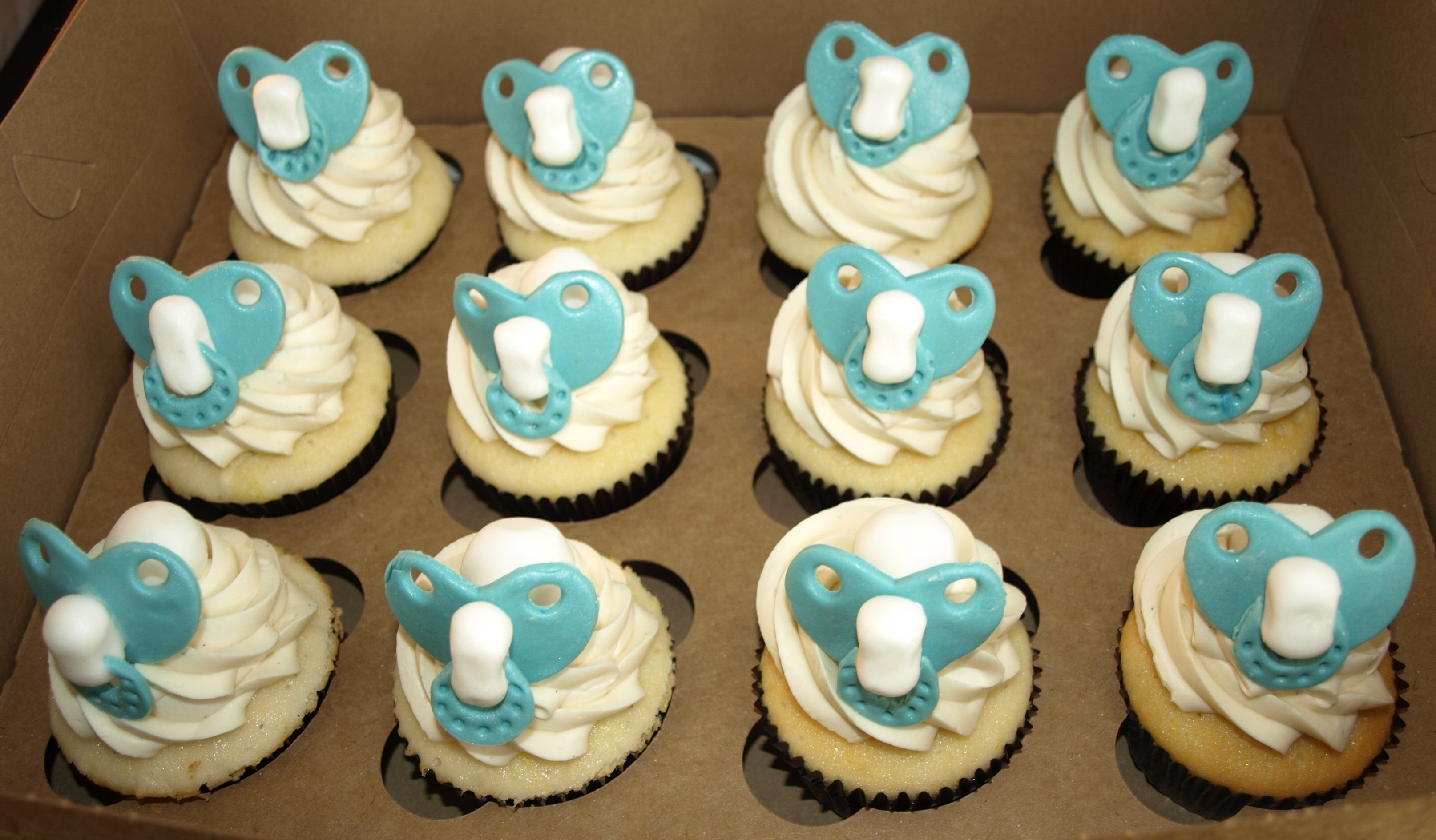 10 Trendy Baby Shower Cupcake Ideas For A Boy baby boy shower cupcake ideas formal baby shower cupcakes long 1