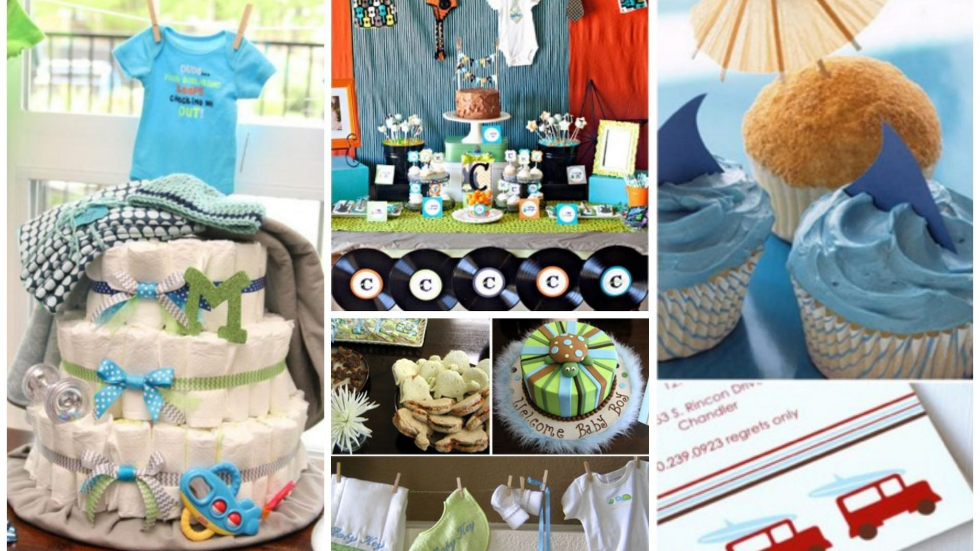 10 Perfect Baby Boy Baby Shower Themes Ideas