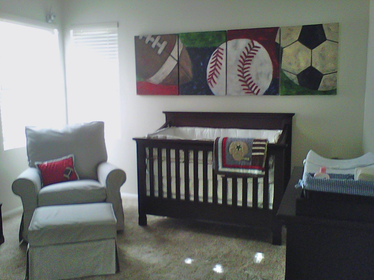 10 lovable baby boy sports nursery ideas