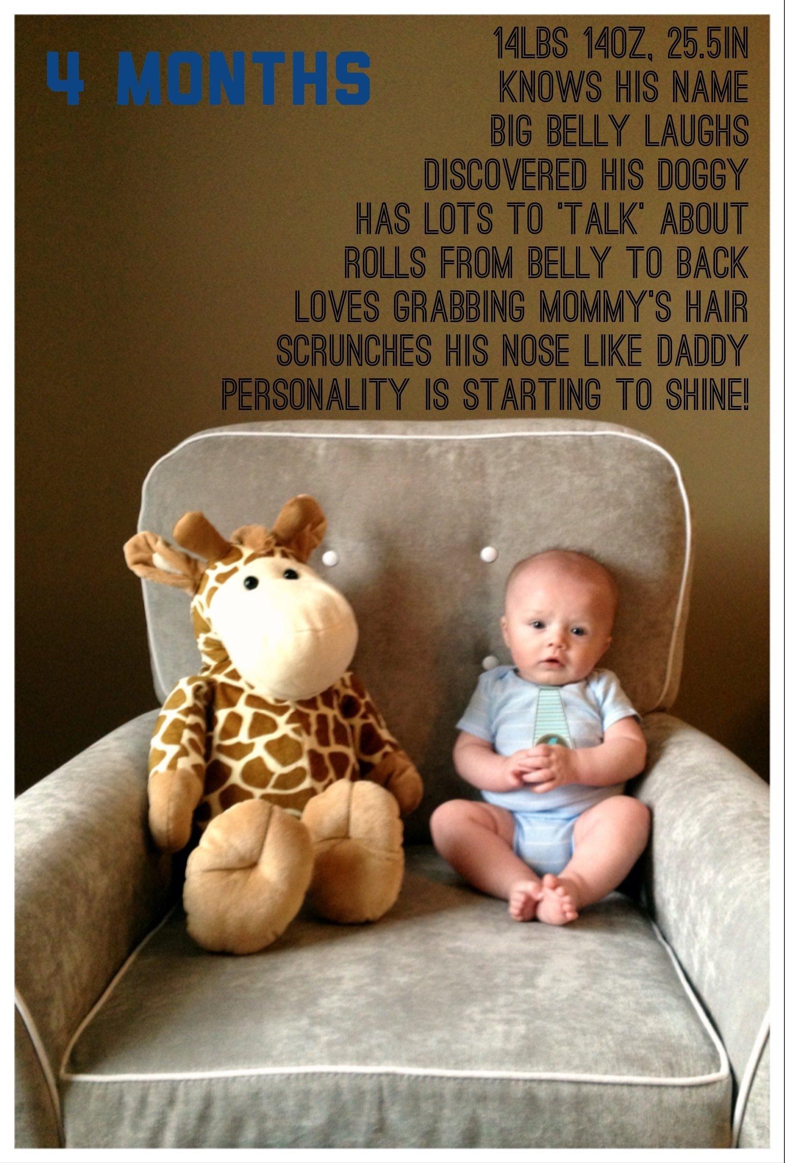 baby boy wyatt is 4 months old ❤ #16weeks #babyboy   wyatt's