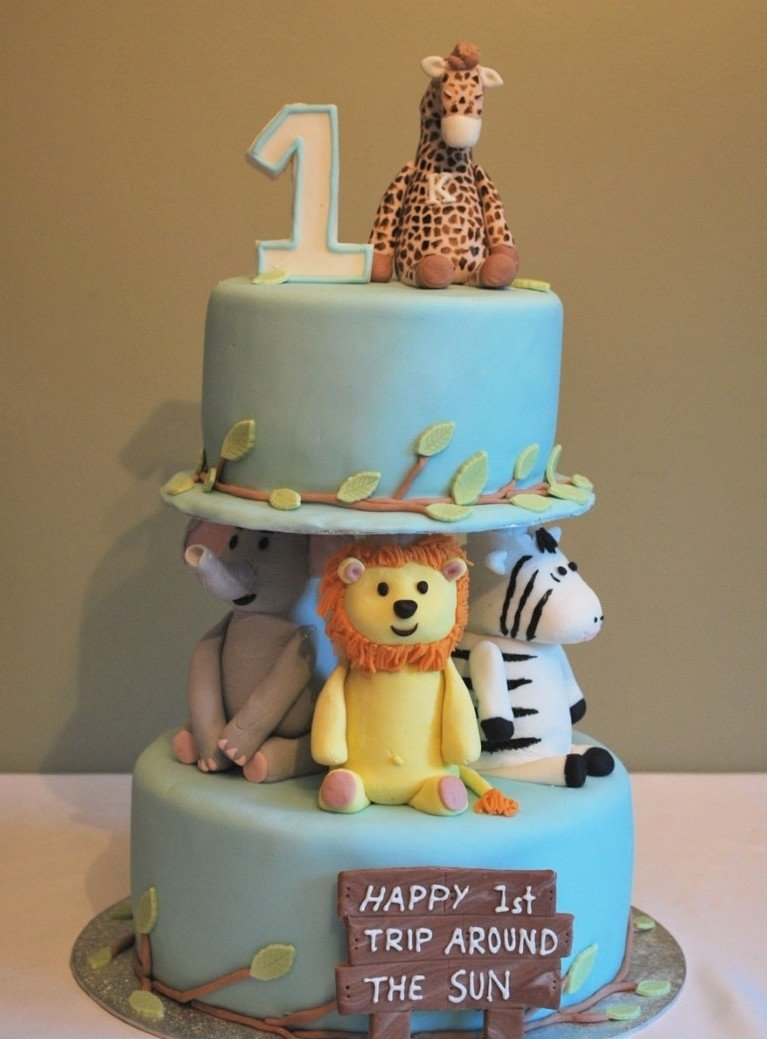 baby boy's first birthday | time for the holidays | cool cakes