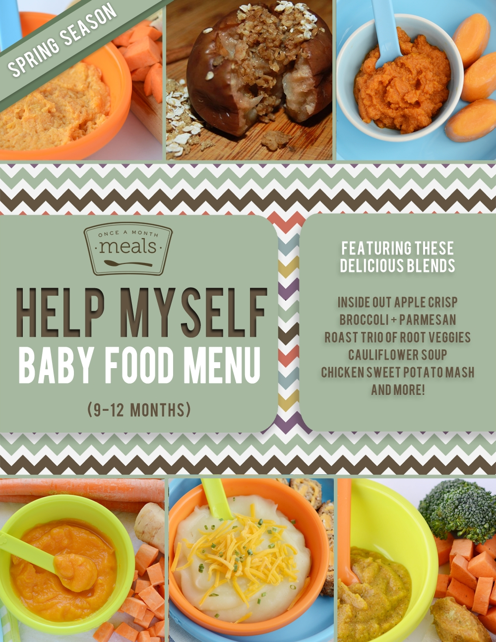 10 Perfect Food Ideas For 12 Month Old baby food 9 12 months spring menu once a month meals 2020