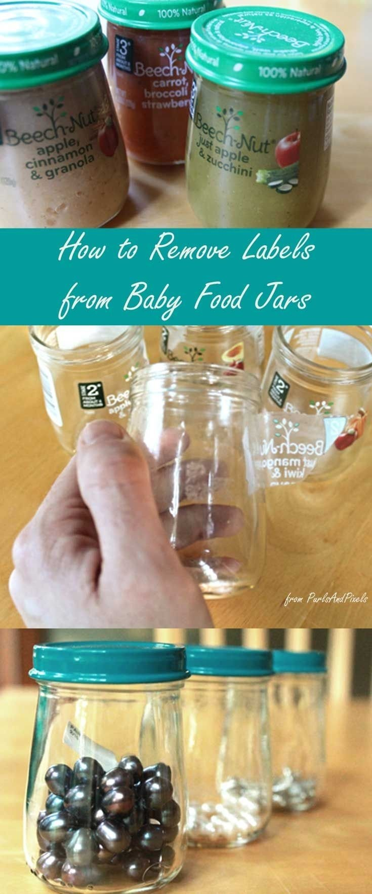 10 Great Craft Ideas For Baby Food Jars baby food jars craft turn your little ones empty jars into helpful 2020