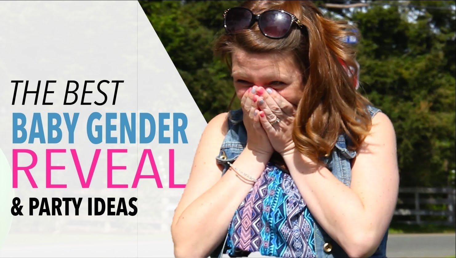 10 Trendy Unique Baby Gender Reveal Ideas baby gender reveal party fun gender reveal party ideas youtube 1 2020