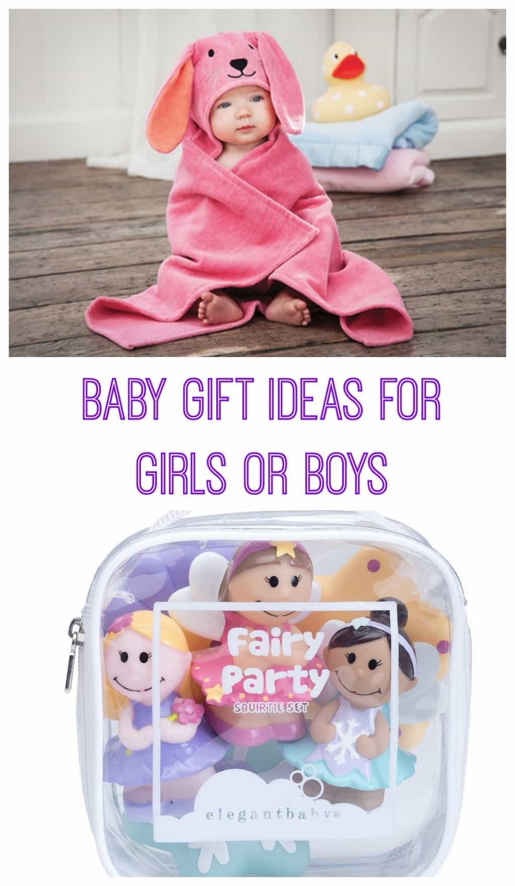 baby gift ideas for girls & boys