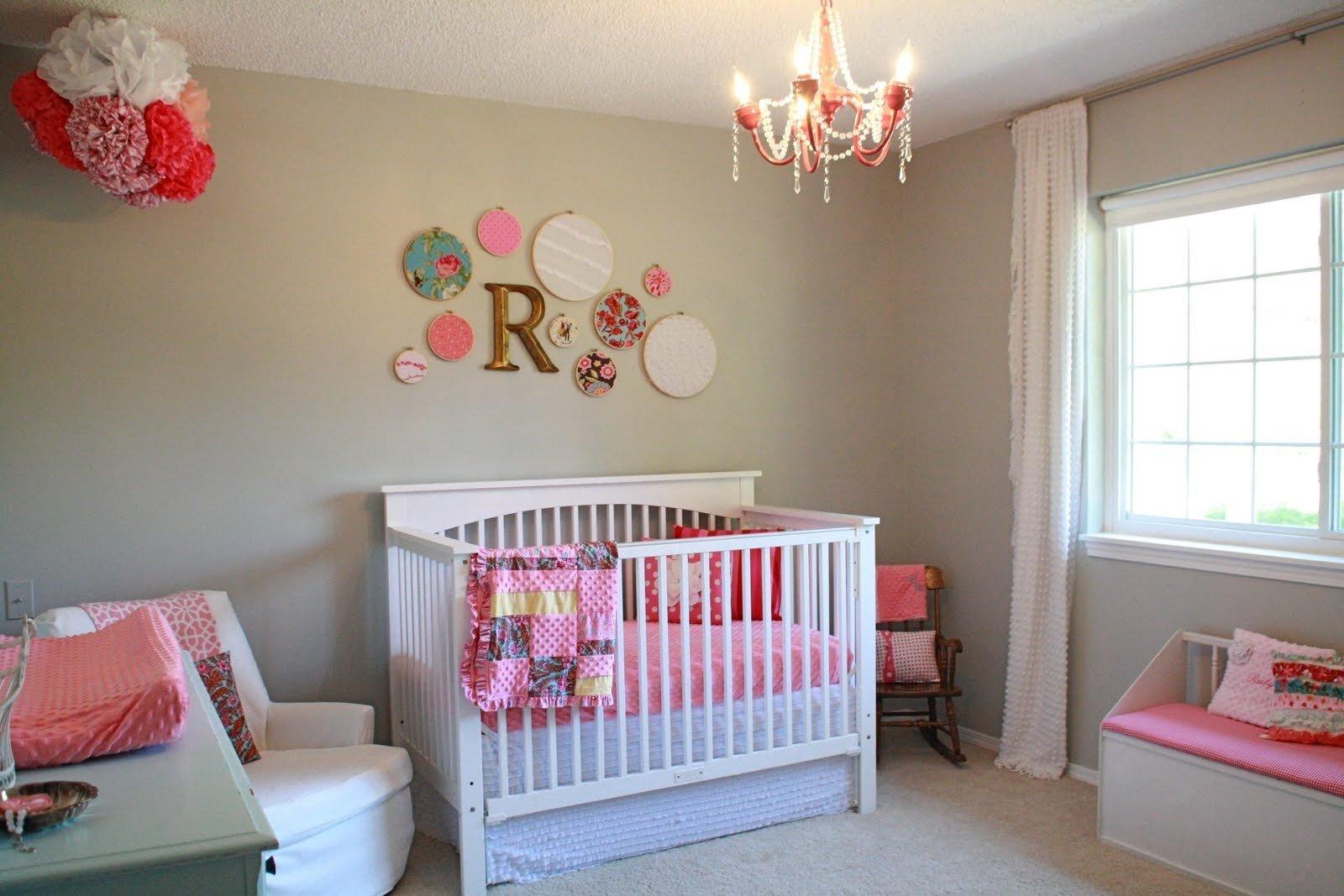 10 Wonderful Baby Girl Nursery Decorating Ideas baby girl bedrooms decorating ideas interior4you 2020