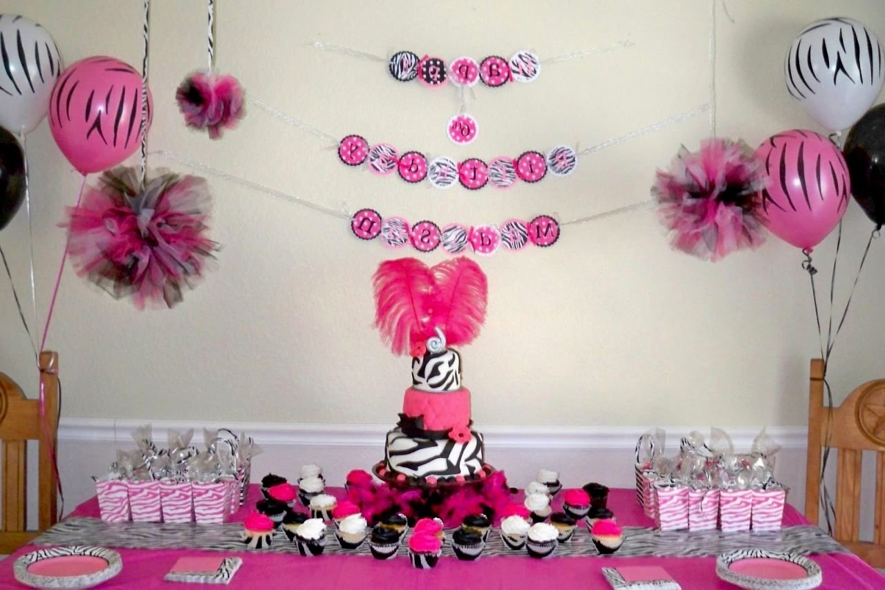 10 Attractive Baby Girl 1St Birthday Ideas baby girl birthday party ideas decorating of party 2 2020