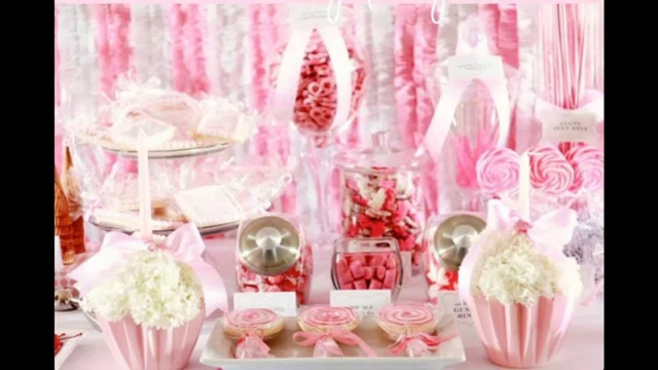 10 Great Girl 1St Birthday Party Ideas baby girl first birthday party decorations ideas home art design 6 2020