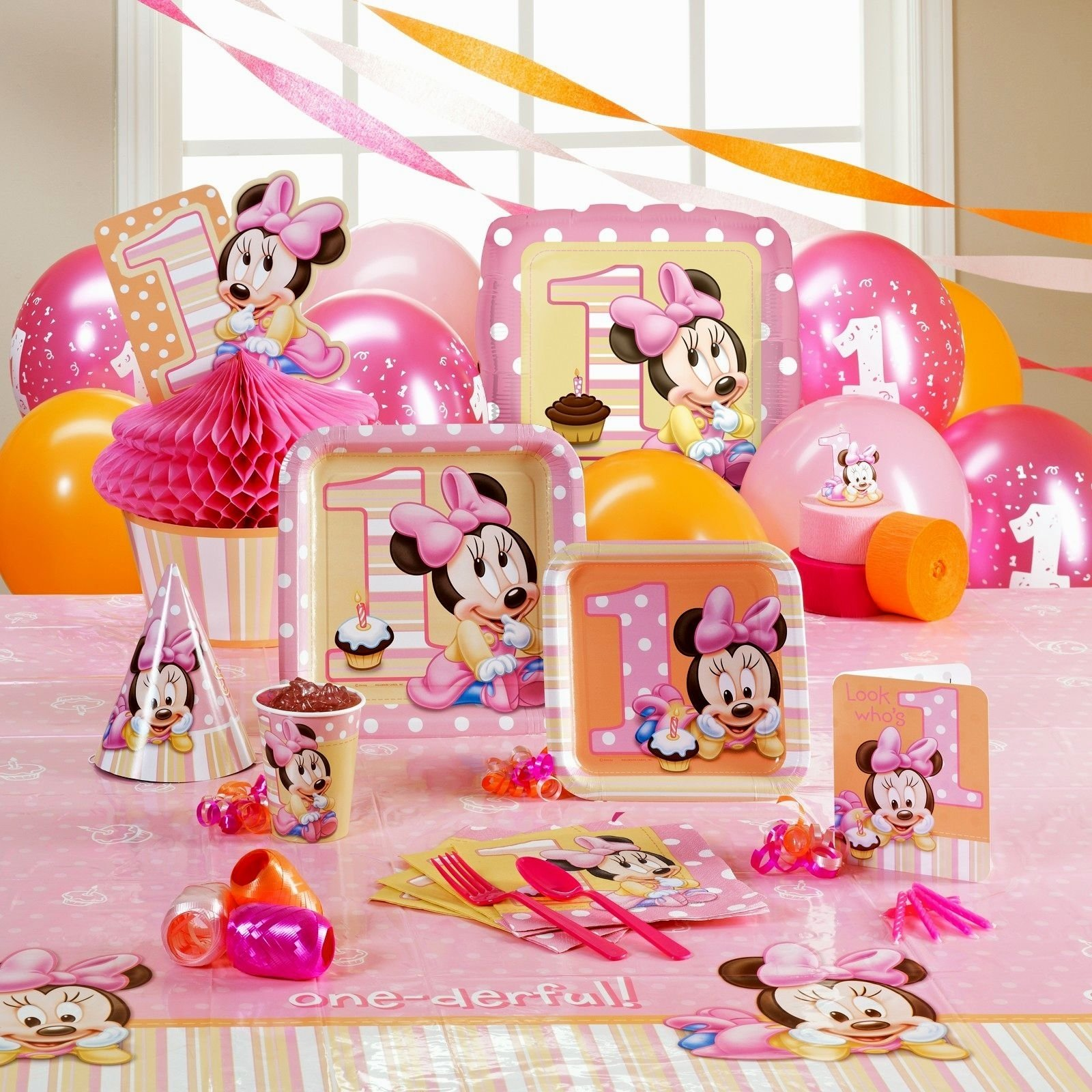 10 Unique Birthday Party Ideas For One Year Old Baby Girl First Decorating