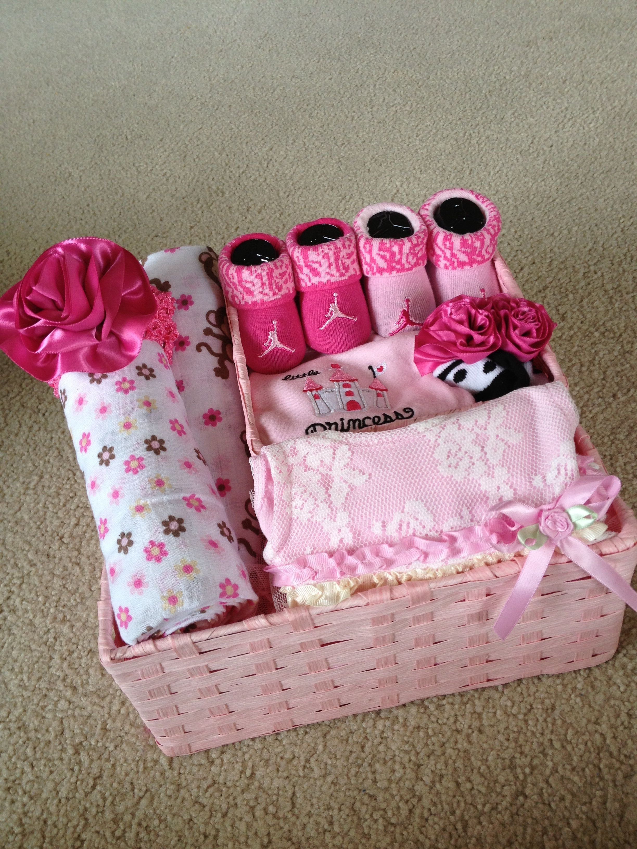 10 Lovable Baby Girl Gift Basket Ideas baby girl gift basket gift baskets pinterest baby girl gift