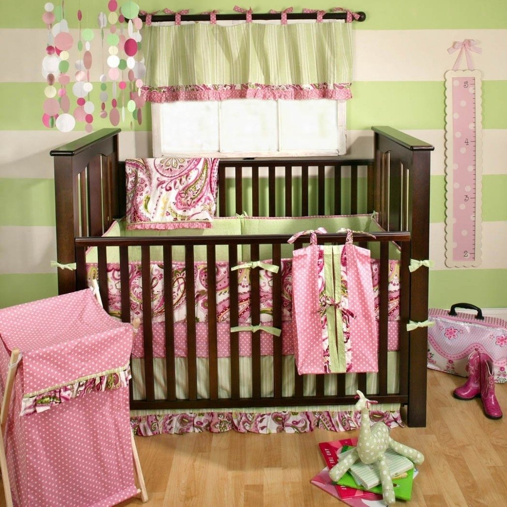 10 Lovely Pink And Brown Nursery Ideas