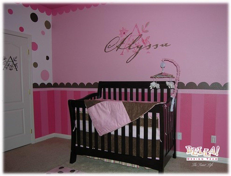 10 Amazing Baby Girl Nursery Painting Ideas 2021