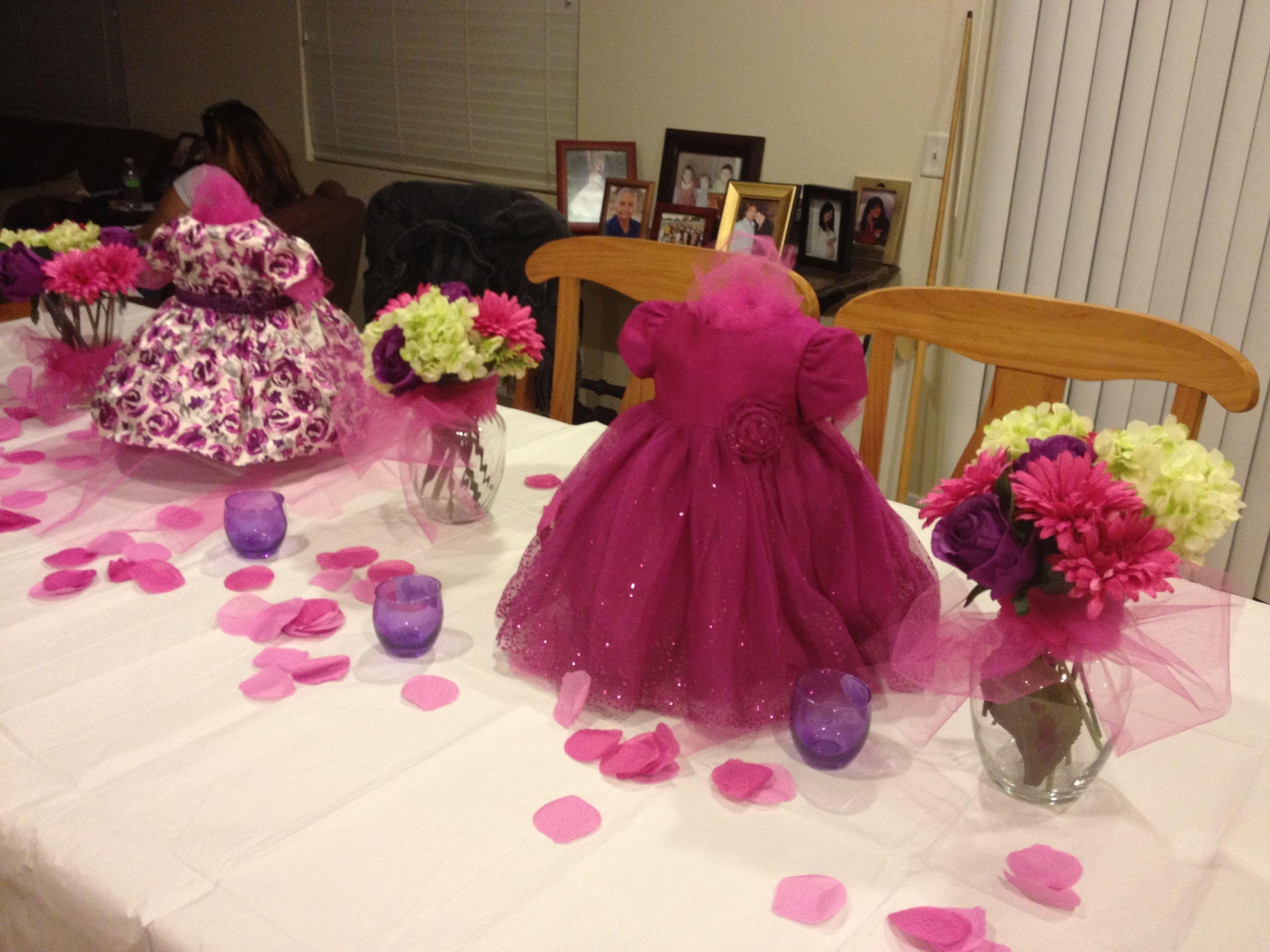 10 Fashionable Girl Baby Shower Centerpiece Ideas baby girl shower centerpieces pinks and purples pinterest 2020