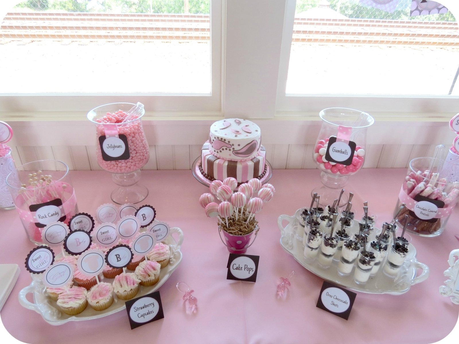 10 Unique Baby Shower Dessert Table Ideas baby girl shower dessert table girls bday party pinterest dessert 2020