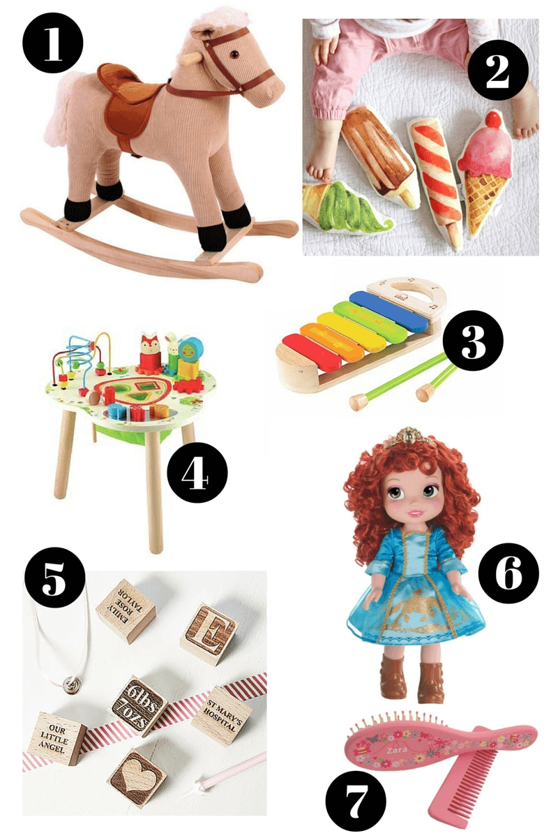 10 Awesome Baby Girl 1St Birthday Gift Ideas baby girls first birthday gift guide birthday gifts birthdays and