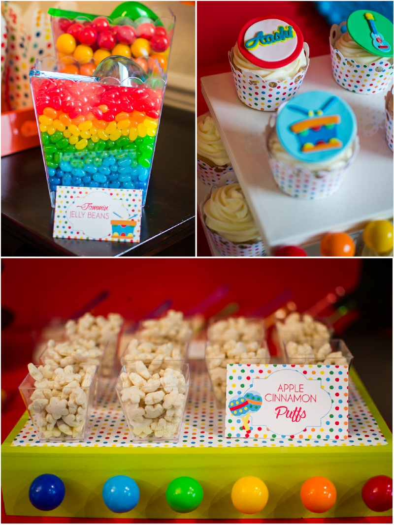 10 Wonderful First Birthday Party Food Ideas baby jam music inspired 1st birthday party birthdays babies and 2020