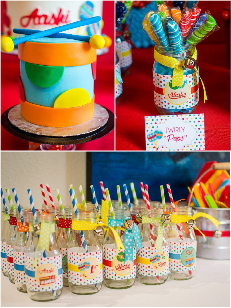 10 Unique Ideas For First Birthday Party baby jam music inspired 1st birthday party party ideas party 2
