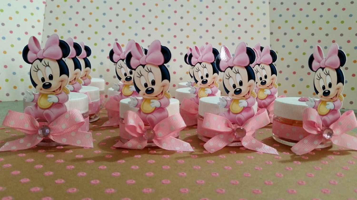 10 Wonderful Baby Minnie Mouse Baby Shower Ideas baby minnie mouse baby shower party favors baby shower favors 2020