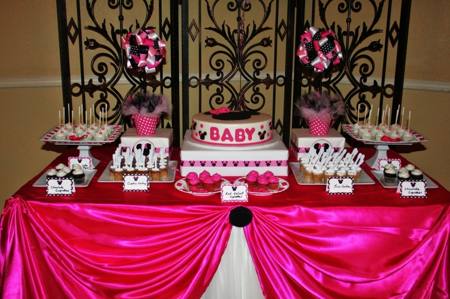 10 Beautiful Baby Minnie Mouse Party Ideas baby minnie mouse party decorations minnie mouse baby shower 2020