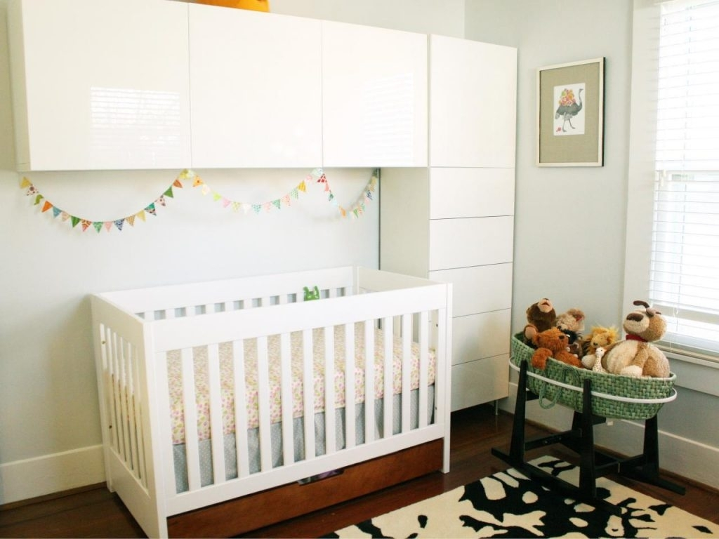10 Cute Nursery Ideas For Small Spaces %name 2020