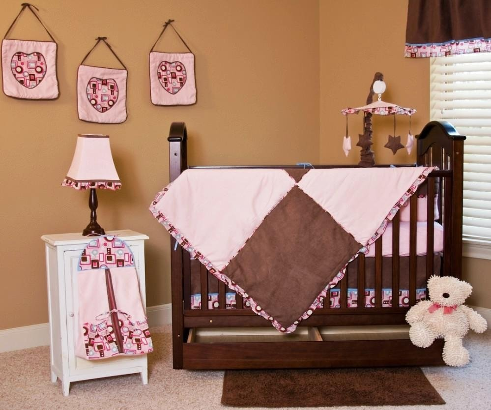 10 Lovely Pink And Brown Nursery Ideas baby pink and brown nursery ideas 2020