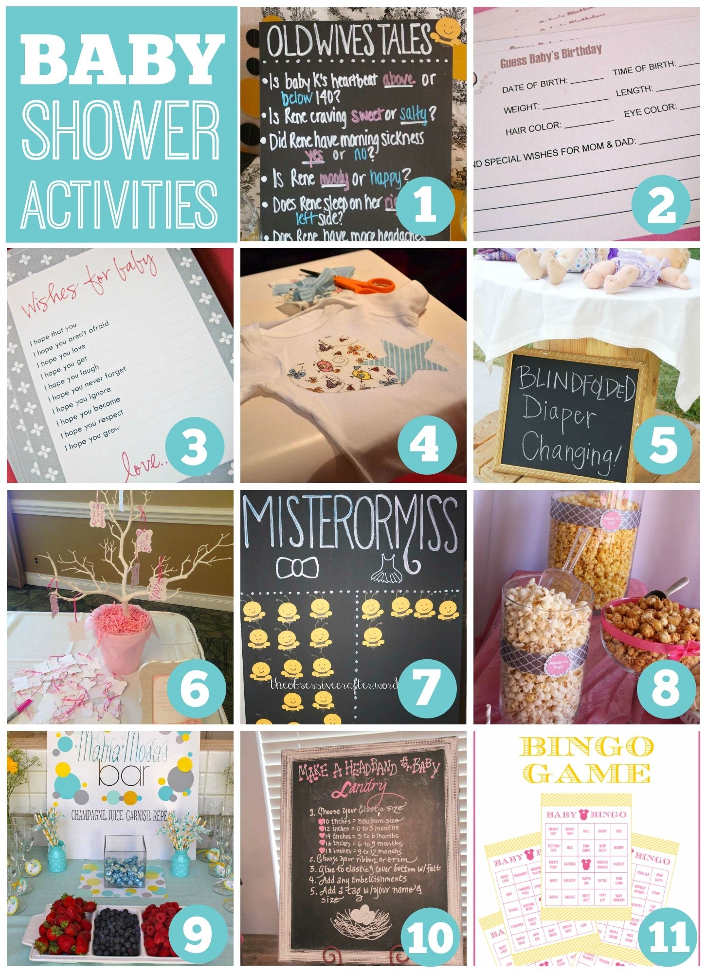 10 Ideal Fun Baby Shower Game Ideas baby shower activities catch my party 2021