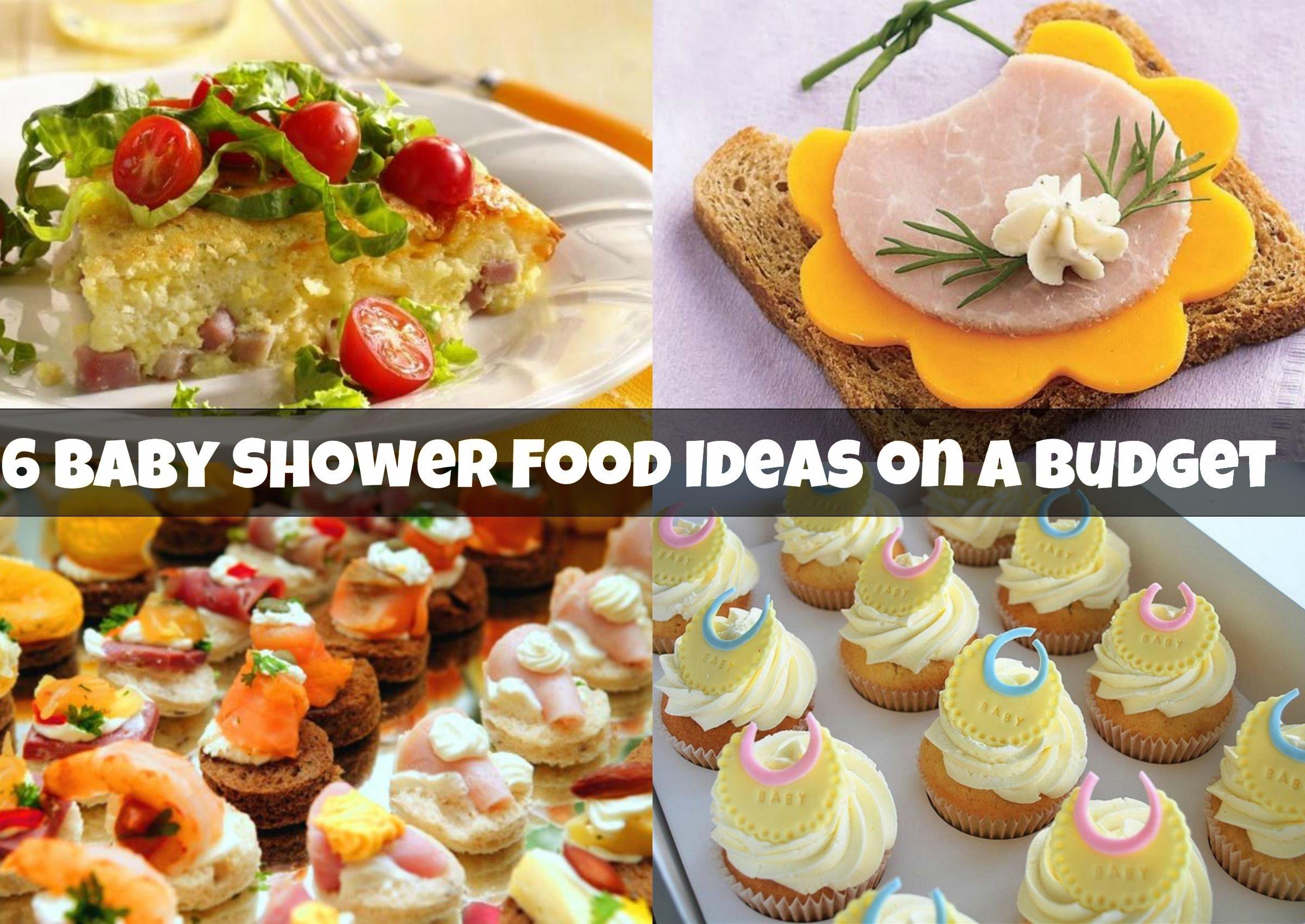 10 Stylish Baby Shower Food Menu Ideas