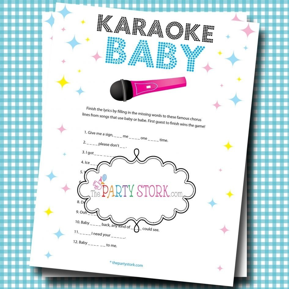 10 Fabulous Couples Baby Shower Games Ideas