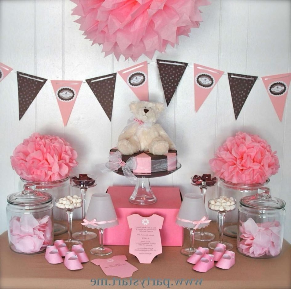 10 Attractive Baby Shower Decoration Ideas For A Girl baby shower baby showers decorations ideas table decorations for