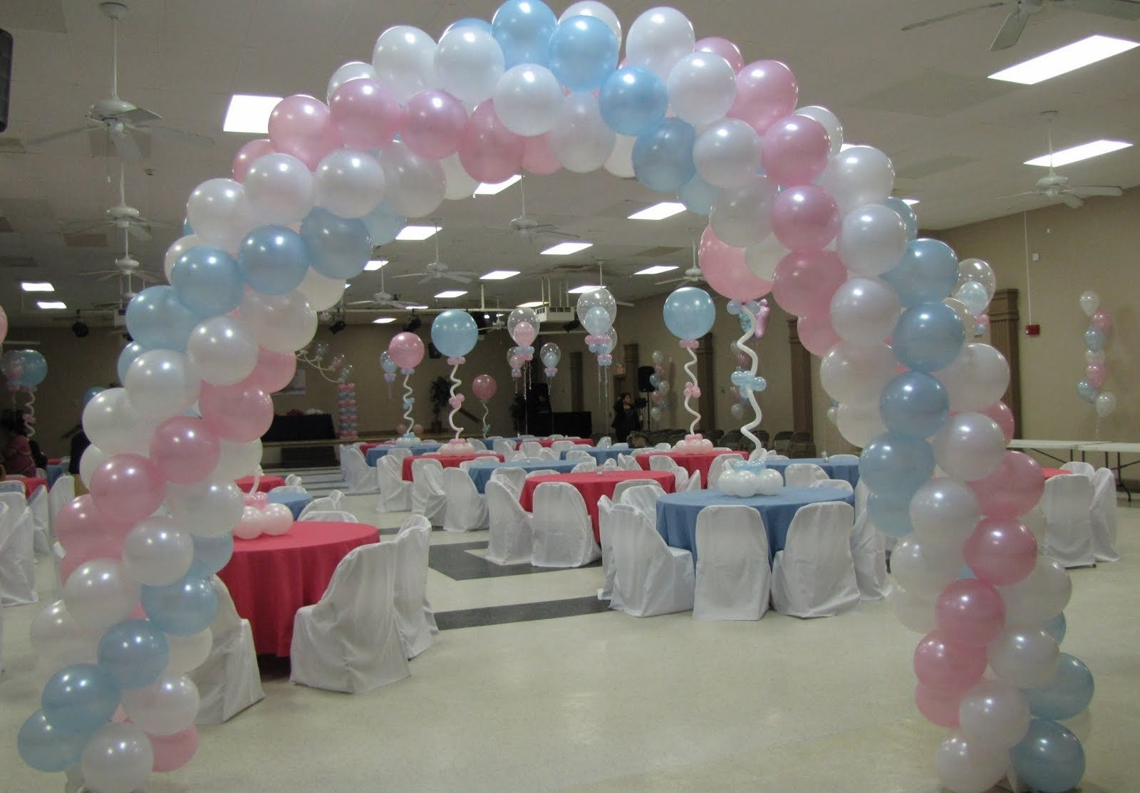 10 Nice Baby Shower Balloon Decoration Ideas baby shower balloon decor party favors ideas tierra este 69395 2 2020