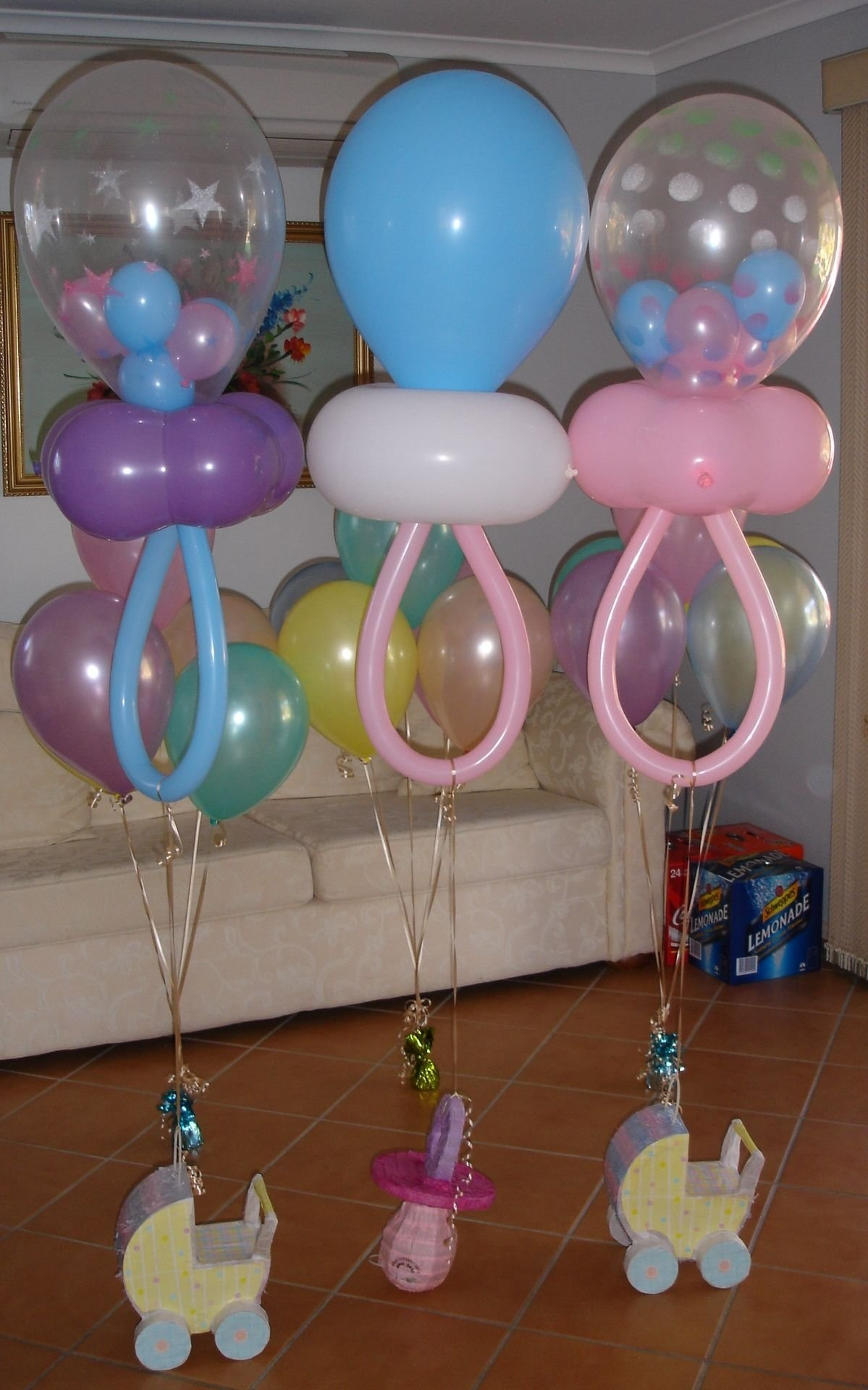 baby shower balloon decoration | party favors | pinterest | babies