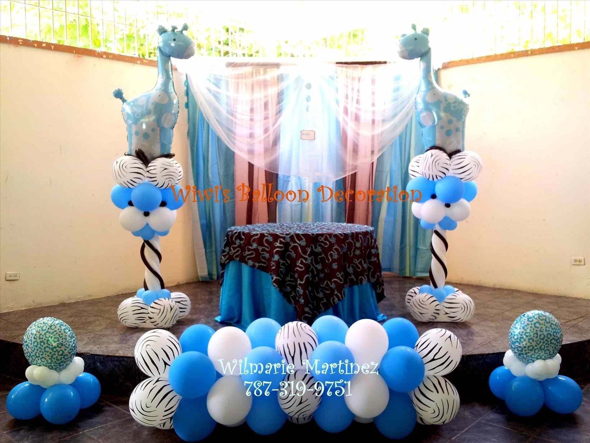 10 Awesome Baby Shower Balloon Decorations Ideas baby shower balloon decorations for a boy ebb onlinecom wedding 2020