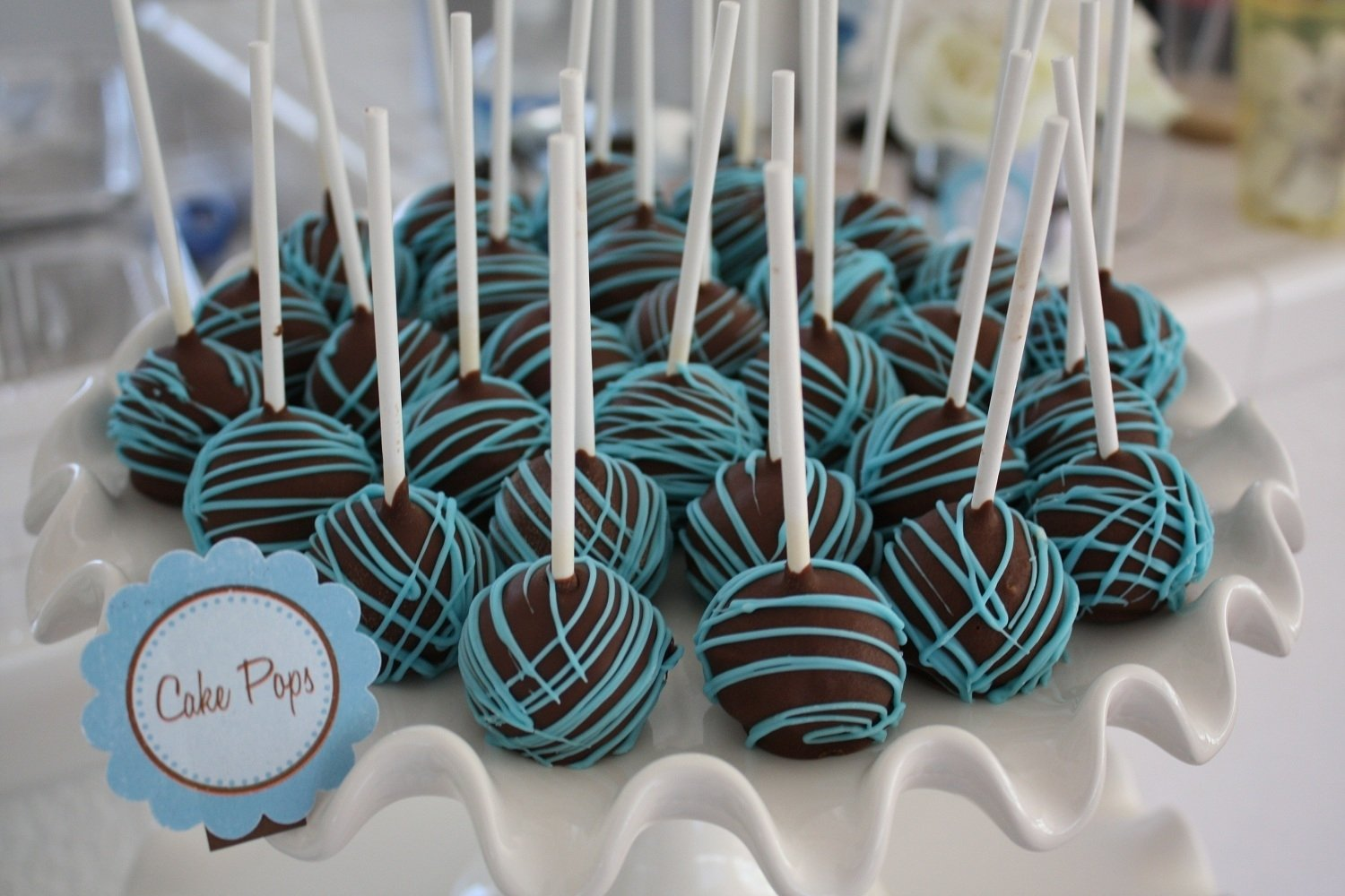 10 Fabulous Blue And Brown Baby Shower Ideas baby shower boy blue and brown img 9971 baby shower diy 2020