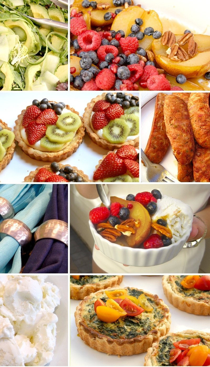 10 Gorgeous Brunch Menu Ideas For Baby Shower baby shower brunch menu for sheila bakin bit 1 2020