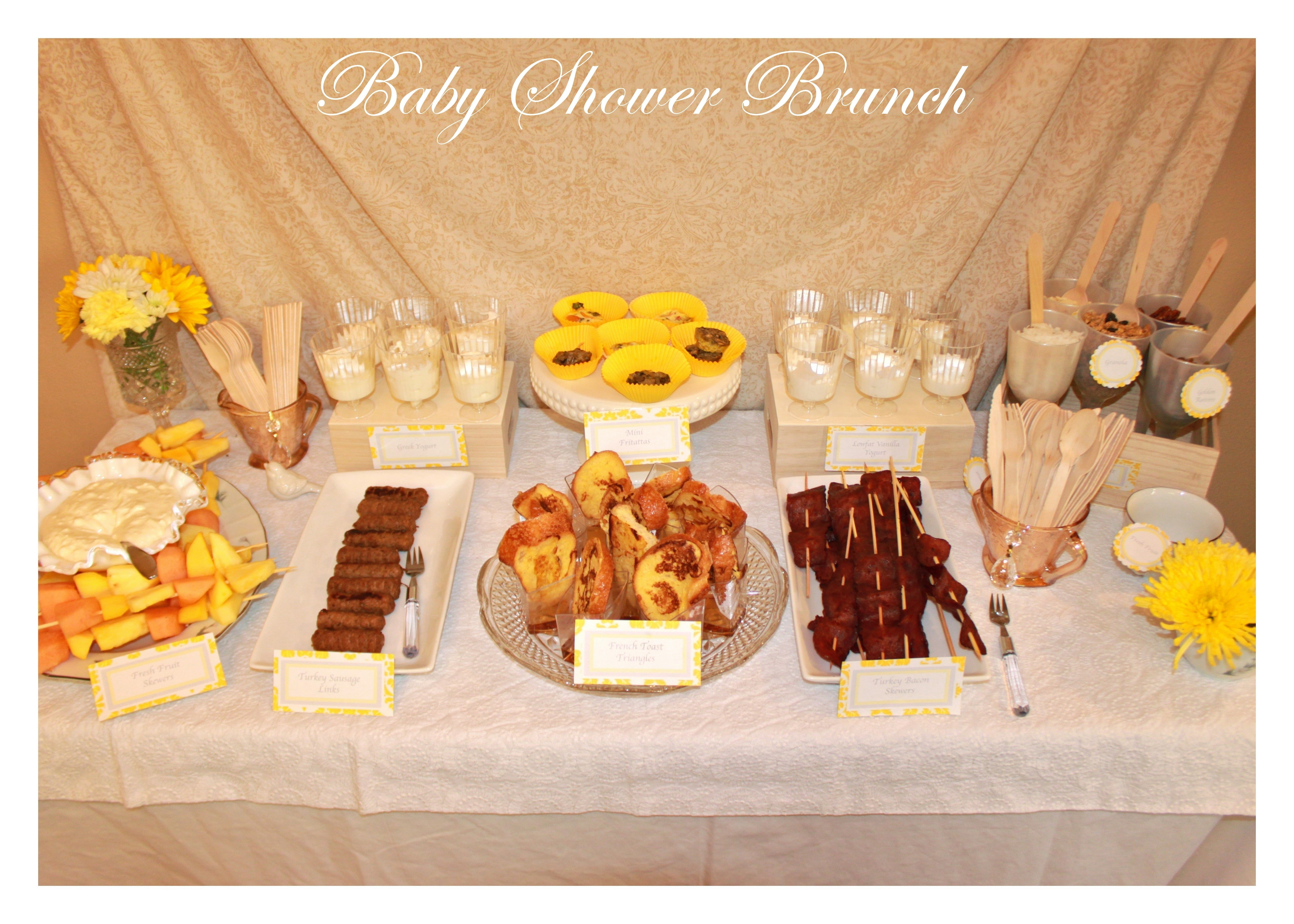 10 Gorgeous Brunch Menu Ideas For Baby Shower baby shower brunch menu ideas archaicawful buffet recipe for 2020